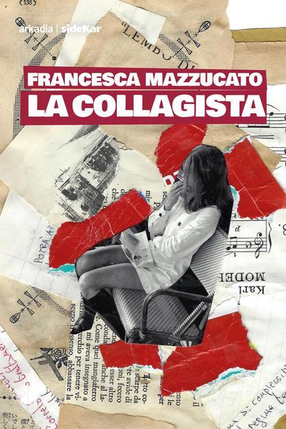 La collagista Francesca Mazzucato- copertina